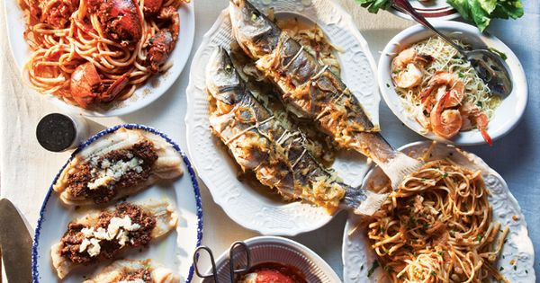 Traditional Italian Christmas Dinner  Menu A Feast of the Seven Fishes for Christmas Eve