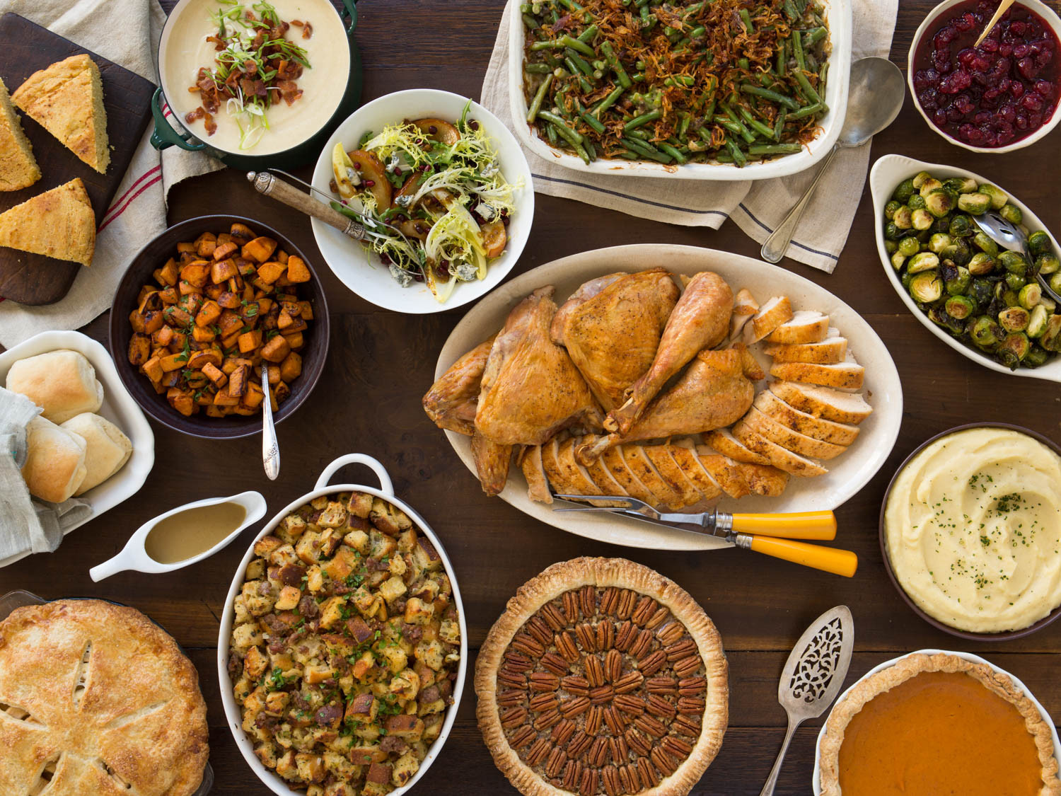 Traditional Southern Thanksgiving Dinner Menu  A Classic Thanksgiving Menu to Feed a Crowd