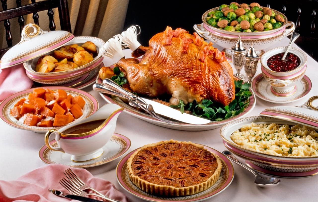 Traditional Southern Thanksgiving Dinner Menu  Thanksgiving the traditional dinner menu and where to