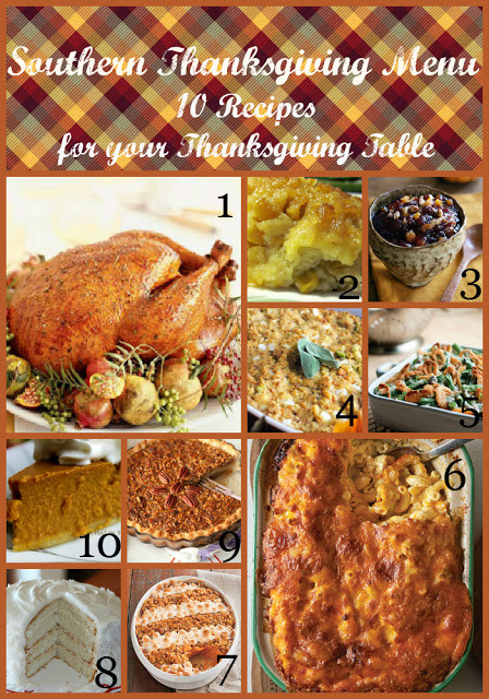 Traditional Southern Thanksgiving Dinner Menu  Belle & Beau Antiquarian Southern Thanksgiving Menu 10