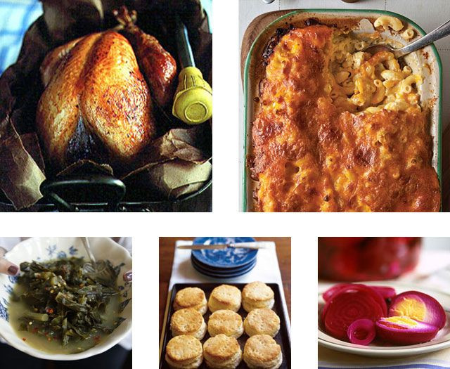 Traditional Southern Thanksgiving Dinner Menu  Menu A Classic Southern Thanksgiving