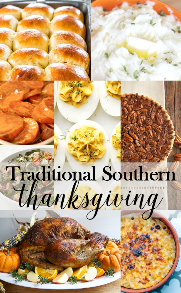 Traditional Southern Thanksgiving Dinner Menu  Traditional Southern Thanksgiving Menu