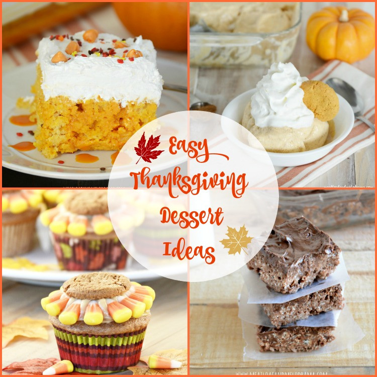 Traditional Thanksgiving Desserts  10 Easy Thanksgiving Dessert Ideas Meatloaf and Melodrama