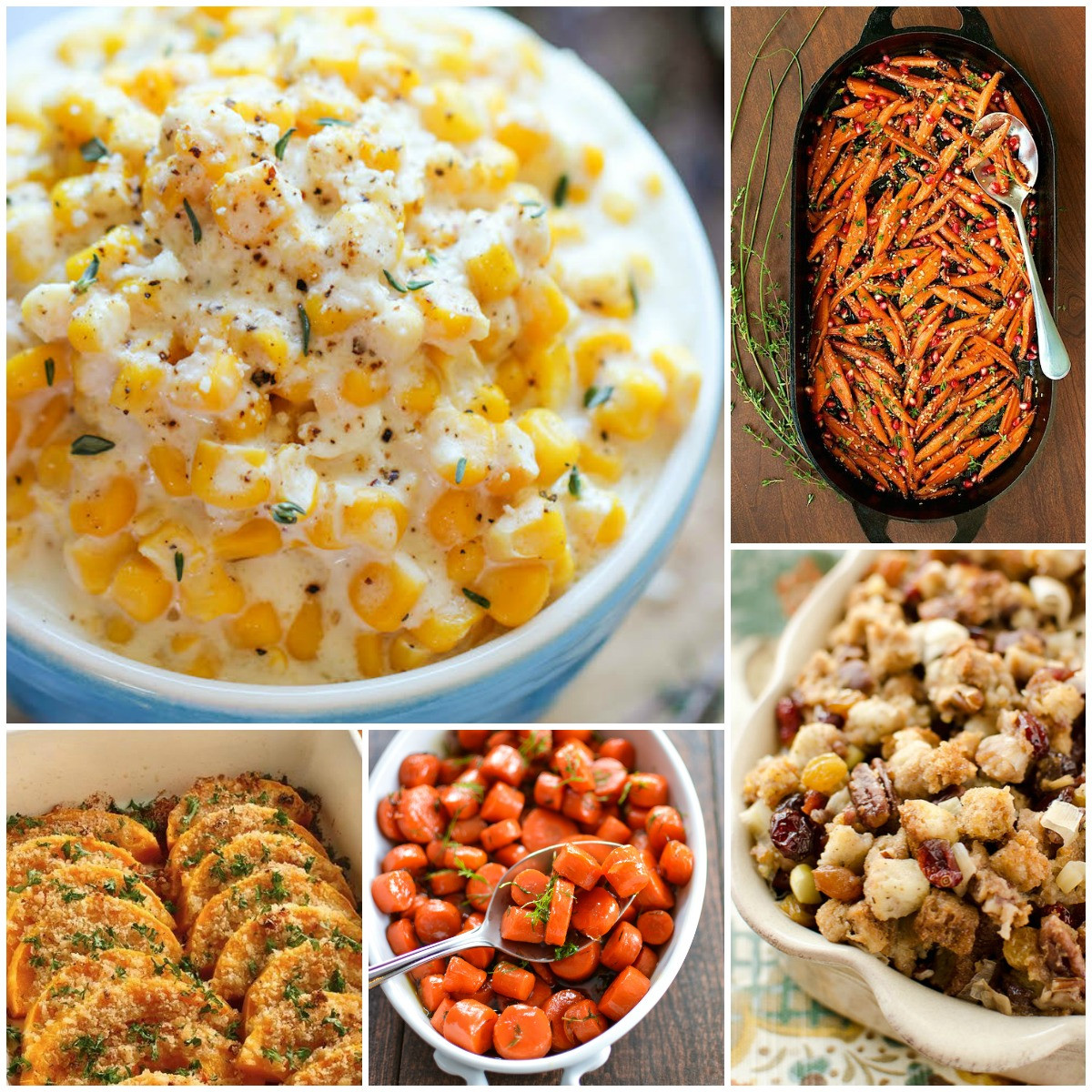 Traditional Thanksgiving Side Dishes  25 Most Pinned Side Dish Recipes for Thanksgiving and