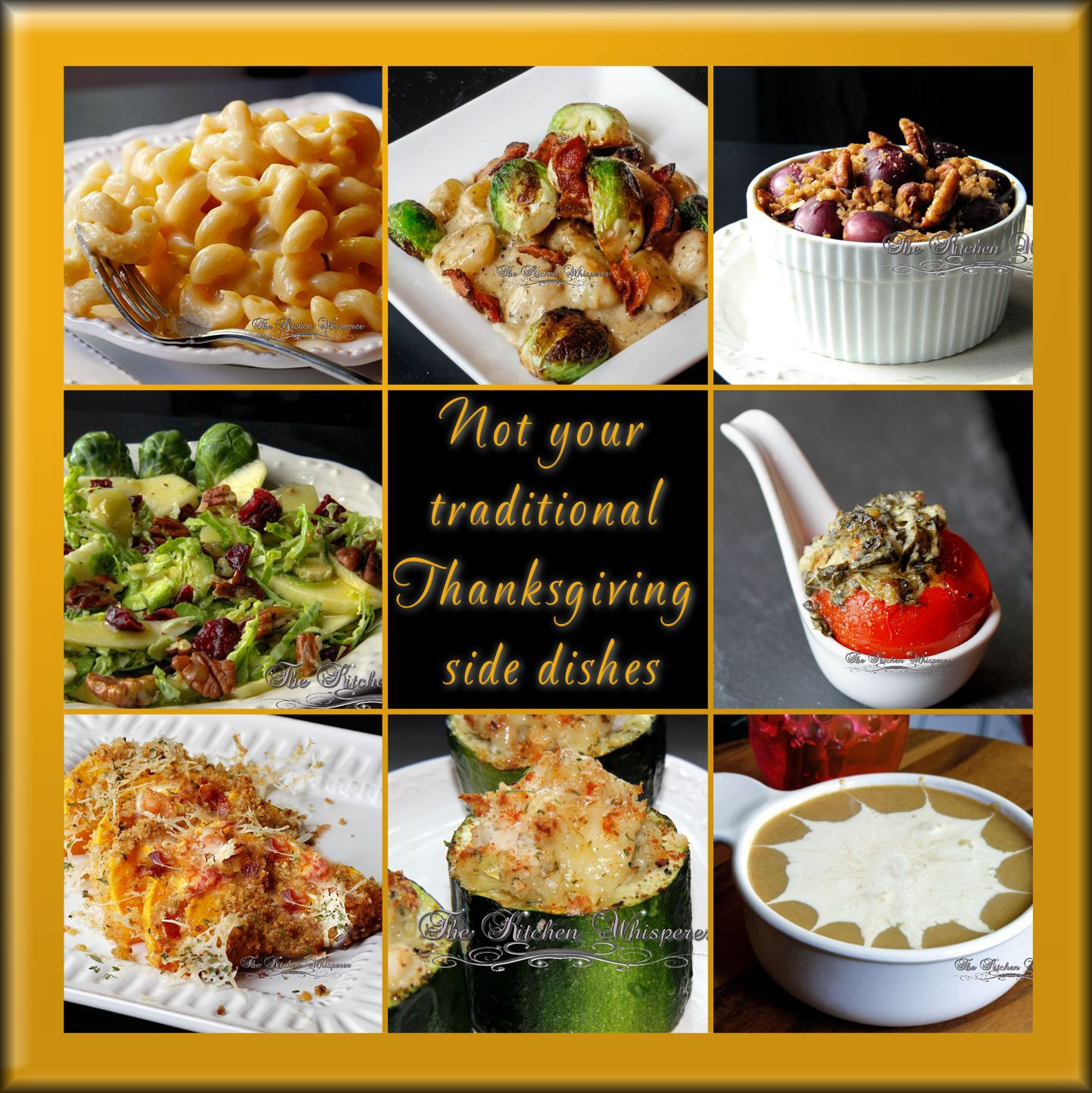 Traditional Thanksgiving Side Dishes  Not your traditional Thanksgiving side dishes