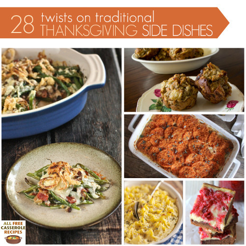 Traditional Thanksgiving Side Dishes  28 Twists on Traditional Thanksgiving Side Dishes