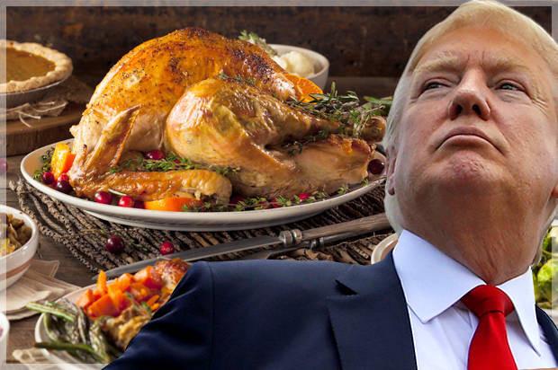 Trump Thanksgiving Turkey  Our blacklivesmatter Thanksgiving Race terror Trump