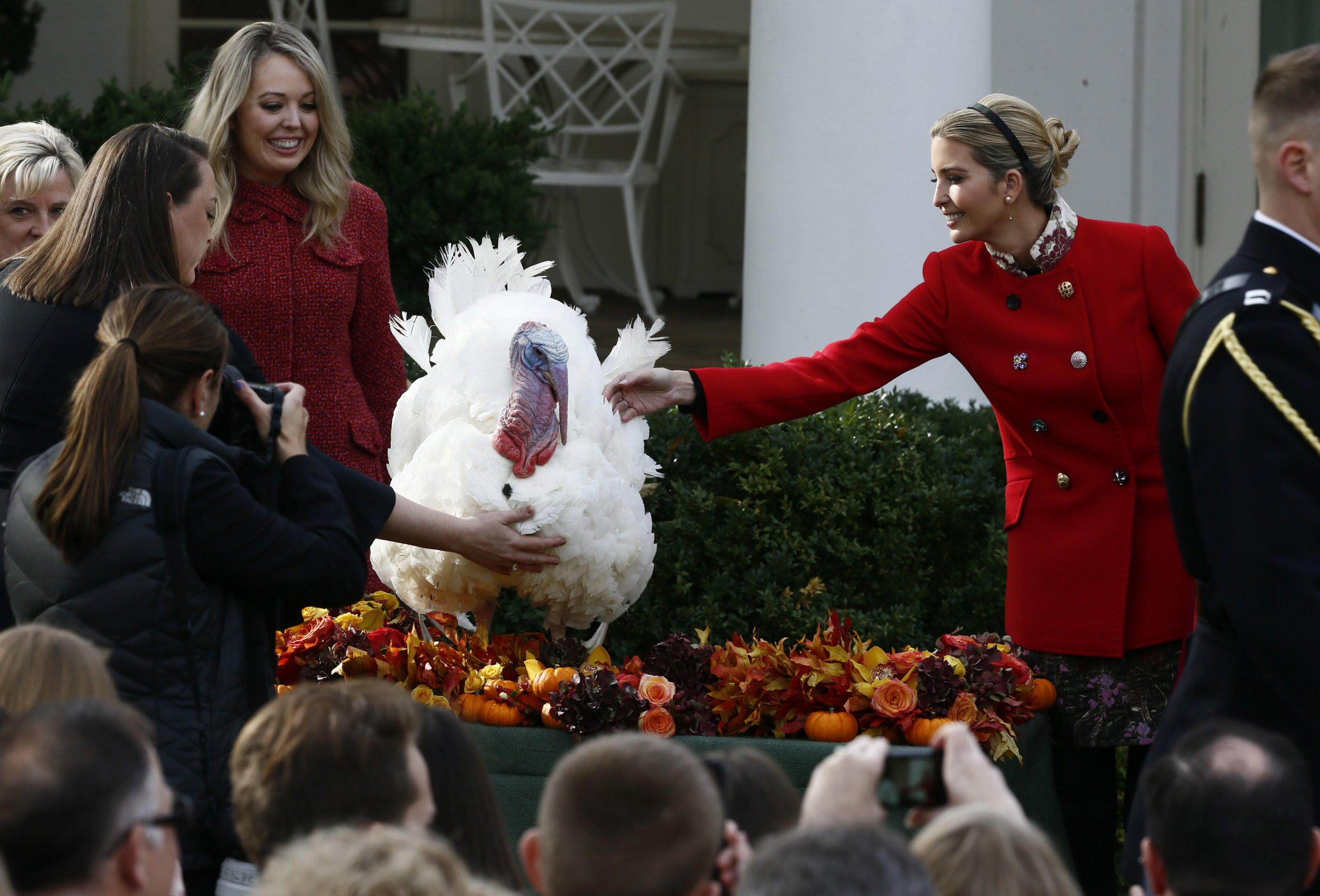 Trump Thanksgiving Turkey  Donald Trump s Kids Celebrate His First Thanksgiving As