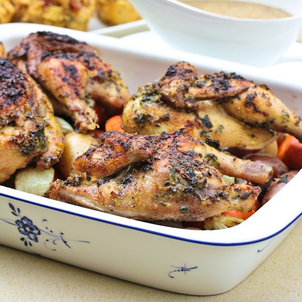 Turkey Alternatives For Thanksgiving  Cornish Game Hen Recipe A Spicy Perspective