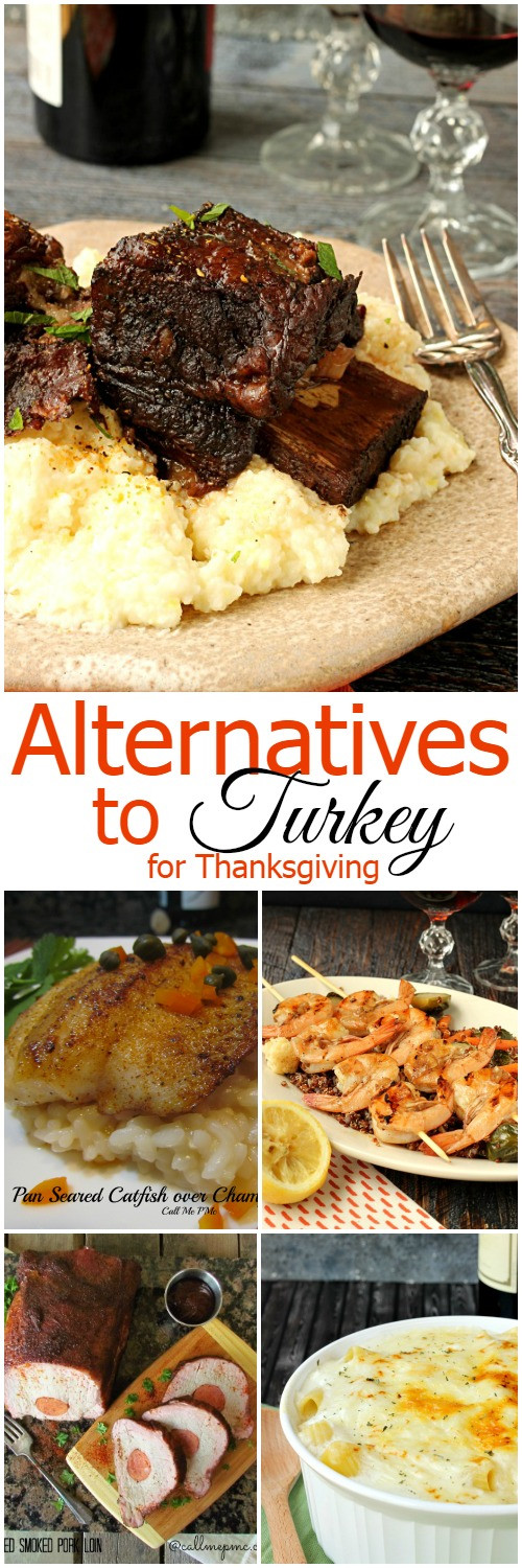 Turkey Alternatives Thanksgiving  Alternatives to Turkey for Thanksgiving Call Me PMc