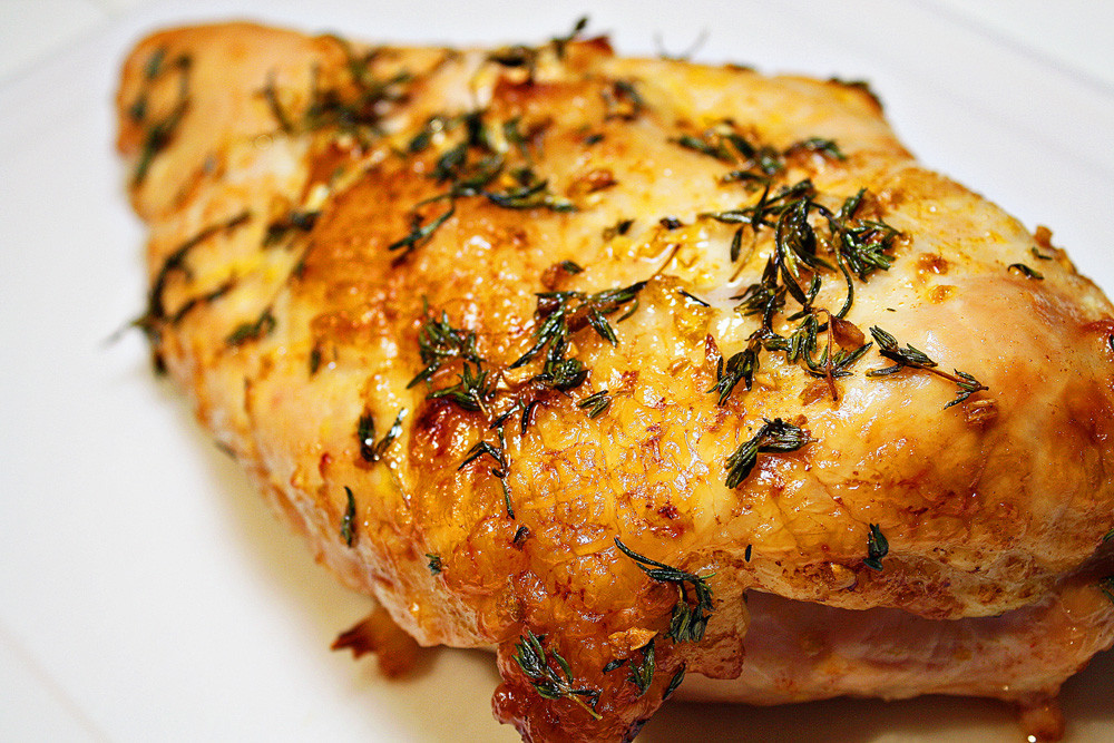 Turkey Breast Recipe For Thanksgiving  Oven Roasted Turkey Breast with Pan Gravy