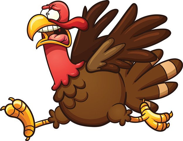 Turkey Cartoons Thanksgiving  Police Dispatch Police Dispatch