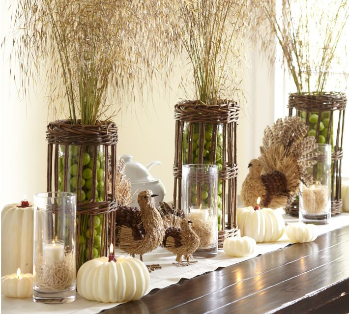 Turkey Centerpieces Thanksgiving  8 Easy and Fun Thanksgiving Decor Ideas