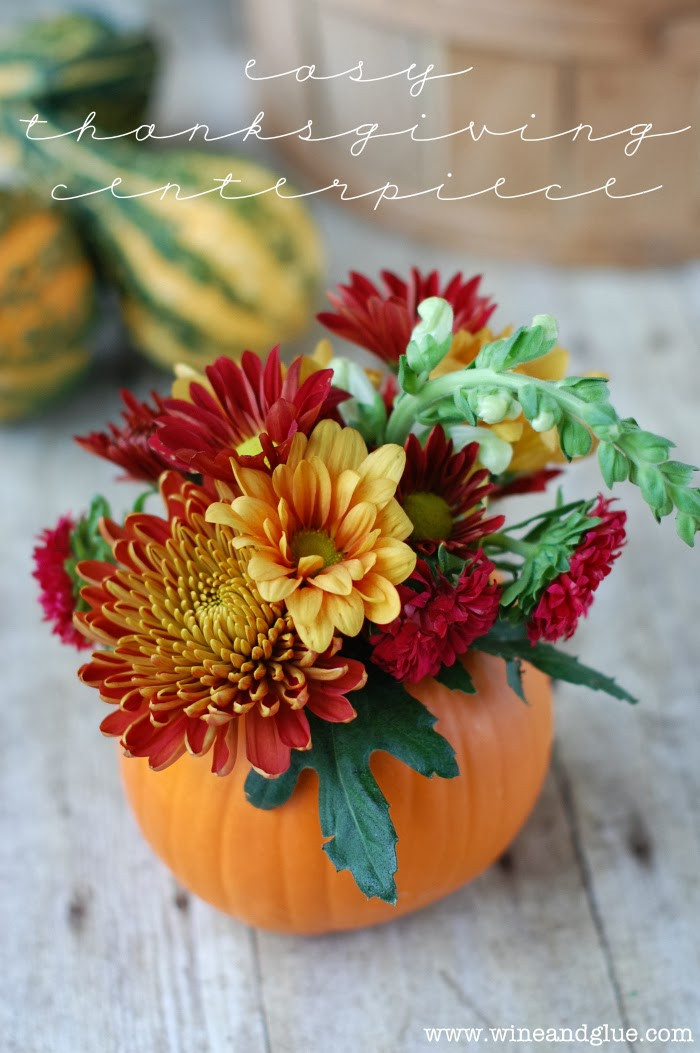 Turkey Centerpieces Thanksgiving  A Sprinkle of This and That Thanksgiving Centerpiece Ideas
