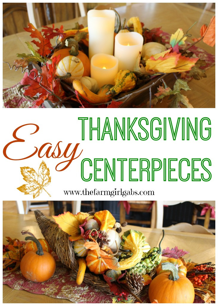 Turkey Centerpieces Thanksgiving  Easy Thanksgiving Centerpiece Ideas