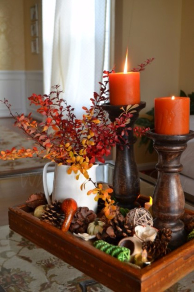 Turkey Centerpieces Thanksgiving  33 Best Thanksgiving Centerpieces and Decor for Your Table