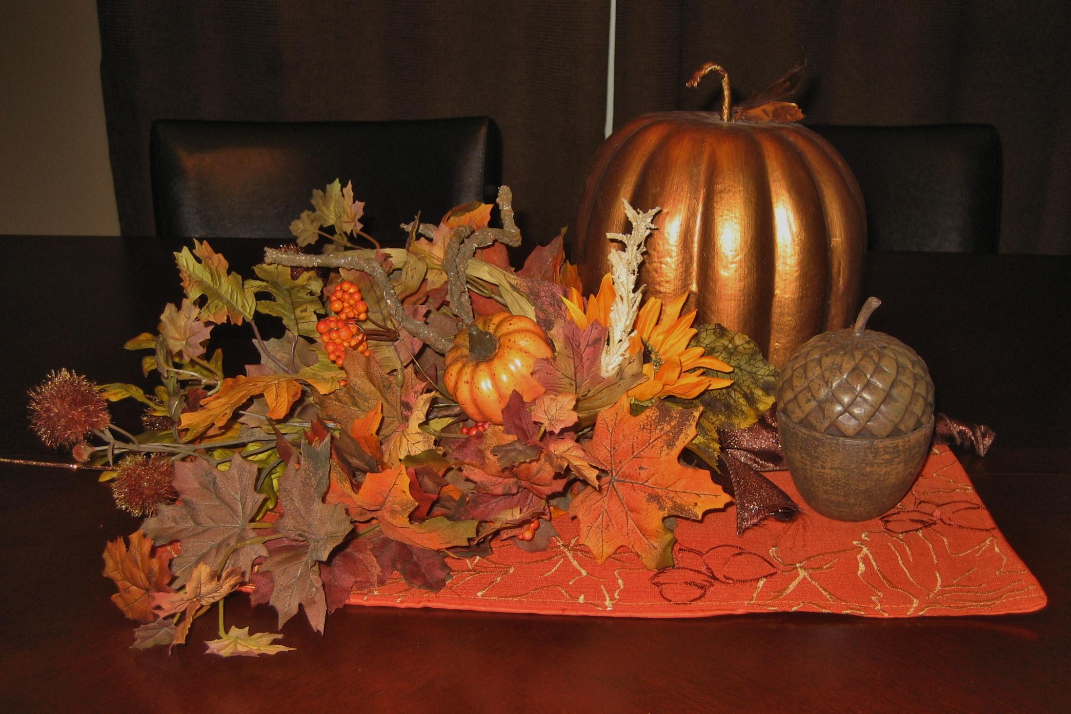 Turkey Centerpieces Thanksgiving  Thanksgiving