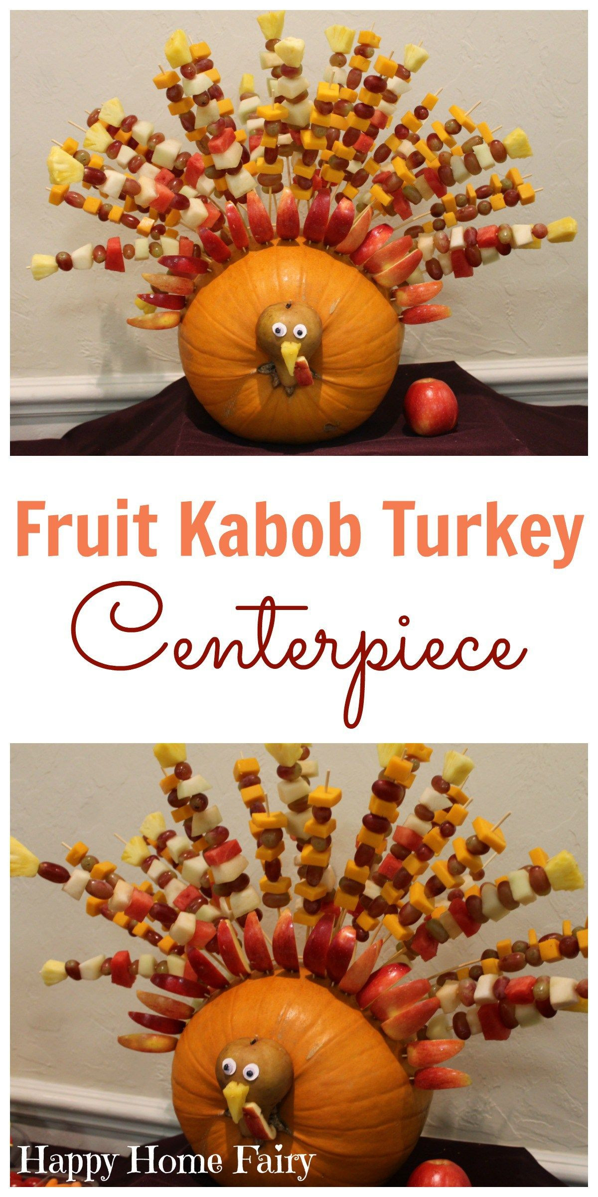 Turkey Centerpieces Thanksgiving  The Greatest Thanksgiving Centerpiece