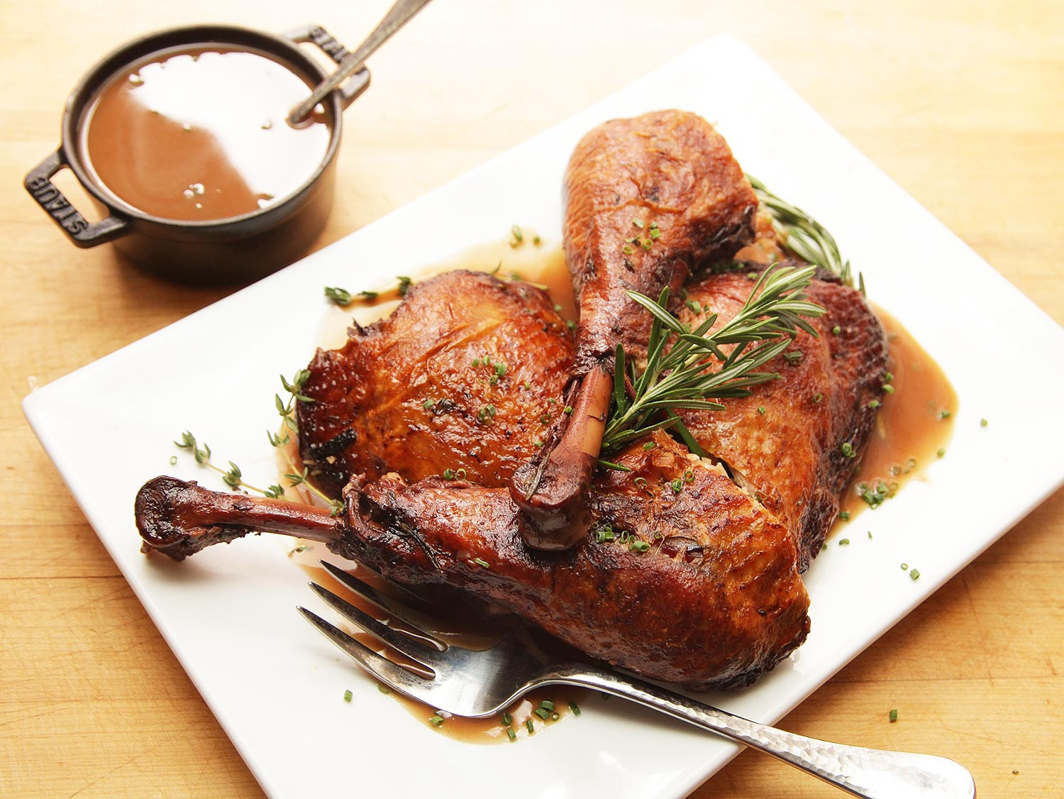 Turkey Cooking Recipes For Thanksgiving  Red Wine Braised Turkey Legs The Food Lab