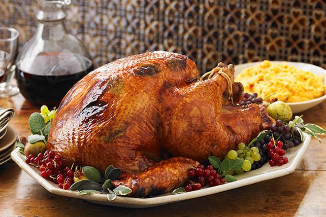 Turkey Cooking Recipes For Thanksgiving  Brined Turkey Recipe Kraft Recipes