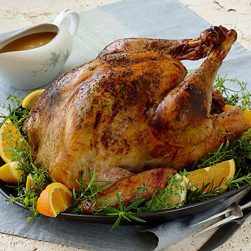 Turkey Cooking Recipes For Thanksgiving  California Roast Turkey and Gravy FineCooking