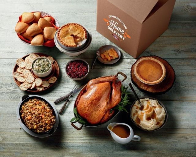 Turkey Delivery For Thanksgiving  Boston Market fers New Thanksgiving Home Delivery