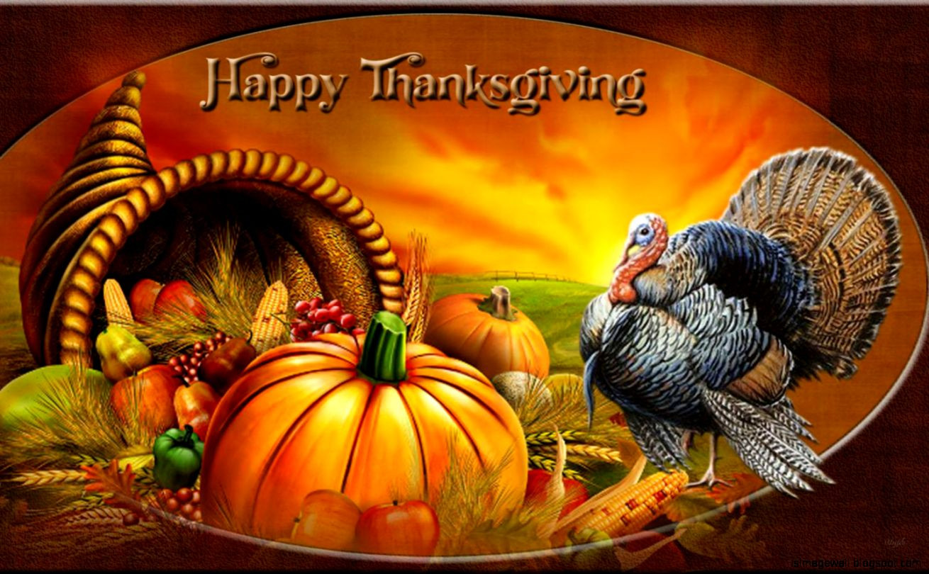 Turkey Happy Thanksgiving  Happy Thanksgiving Wallpaper
