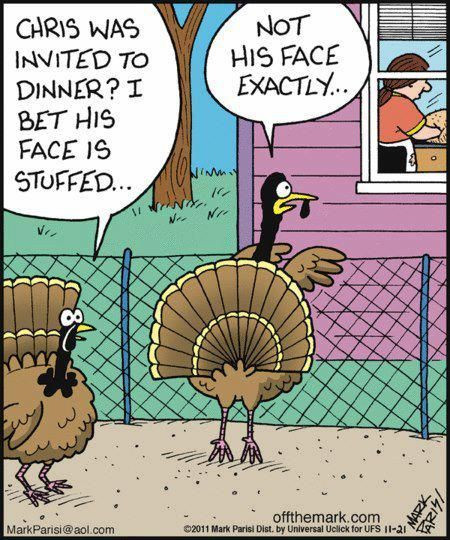 Turkey Humor Thanksgiving  Funny Thanksgiving ic Quote s and