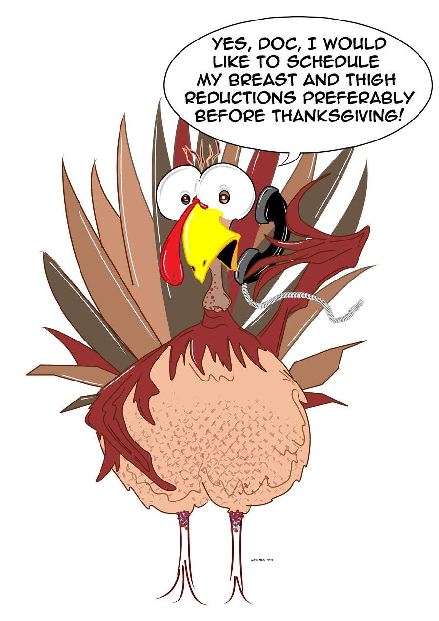 Turkey Humor Thanksgiving  Shelly s Gobble Gobble