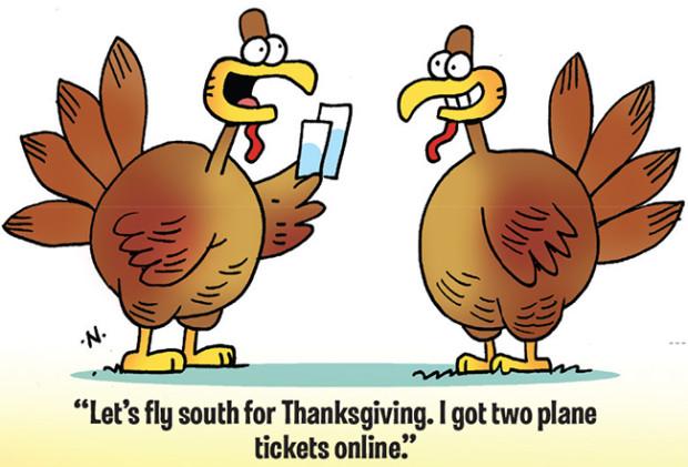 Turkey Humor Thanksgiving  35 Funny Thanksgiving Day Jokes and ics – Boys Life