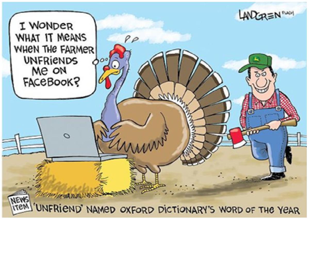 Turkey Humor Thanksgiving  Denae D Arcy November 2012