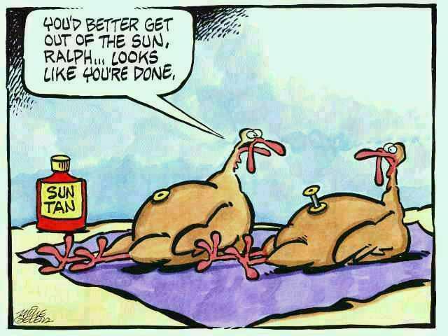 Turkey Humor Thanksgiving  Rick s Time Earth Some Thanksgiving Humor