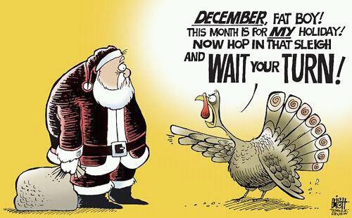 Turkey Humor Thanksgiving  A Place to Dwell Give Thanksgiving Its Due