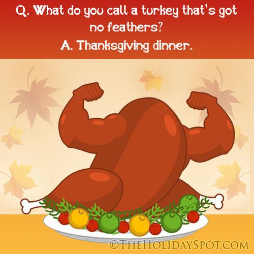 Turkey Jokes Thanksgiving  Thanksgiving jokes