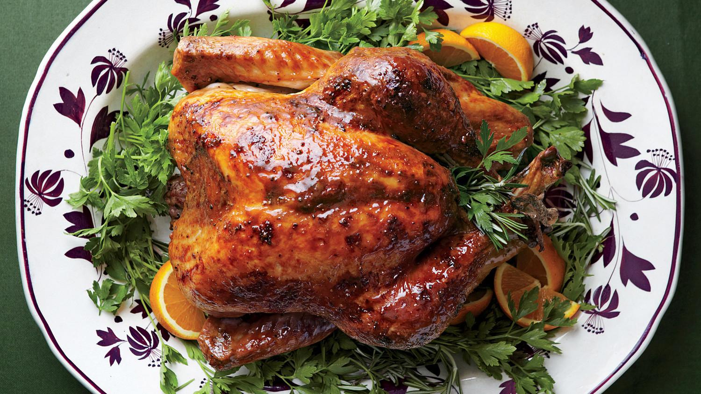 Turkey Pics Thanksgiving  Turkey with Brown Sugar Glaze Recipe & Video