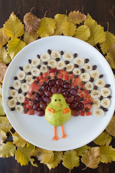 Turkey Platters Thanksgiving  Turkey Fruit Platter