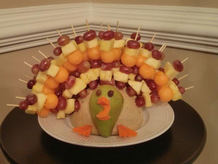 Turkey Platters Thanksgiving  1000 ideas about Fruit Turkey on Pinterest