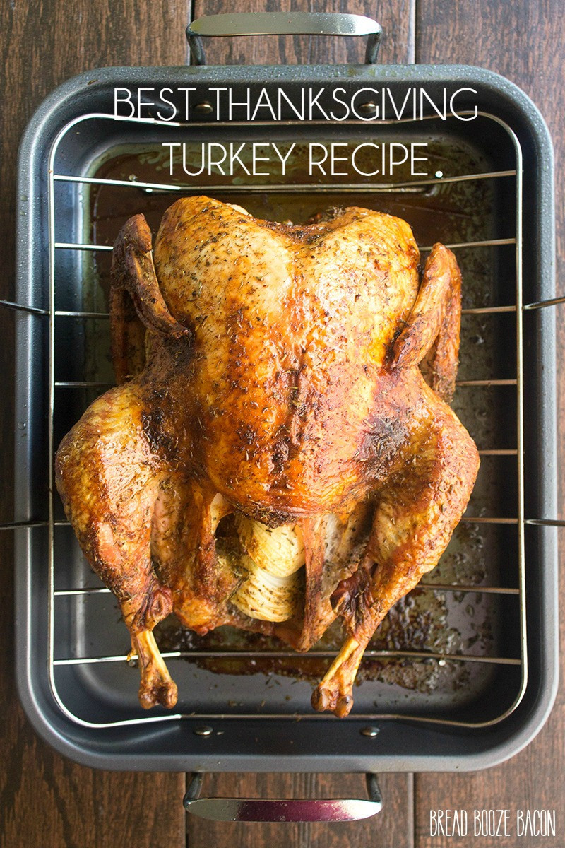 Turkey Recipe Thanksgiving  Best Thanksgiving Turkey Recipe Yellow Bliss Road