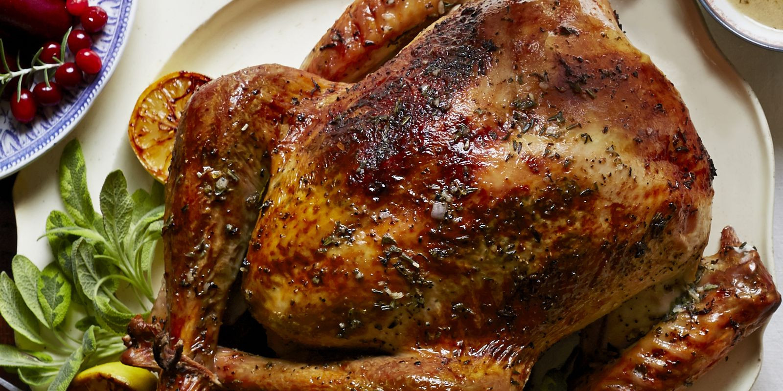 Turkey Recipe Thanksgiving  Herb and Citrus Butter Roasted Turkey Recipe