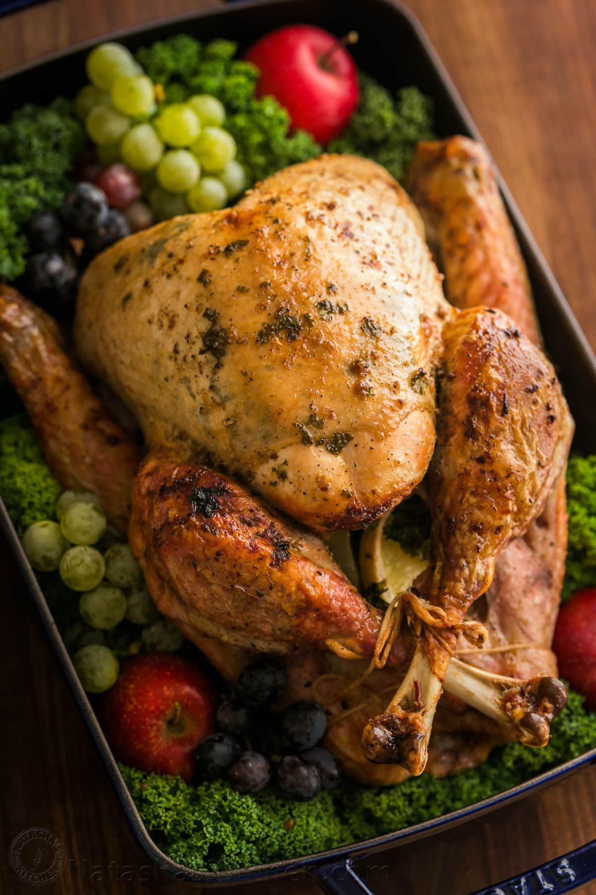 Turkey Recipe Thanksgiving  Thanksgiving Turkey Recipe VIDEO NatashasKitchen