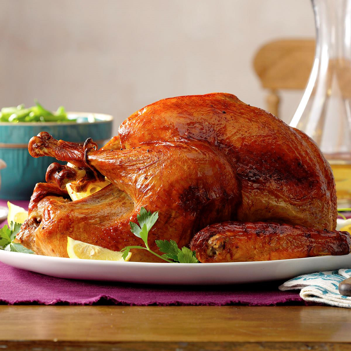 Turkey Recipes For Thanksgiving Dinner  Marinated Thanksgiving Turkey Recipe