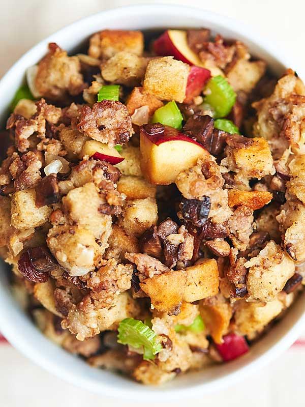 Turkey Sausage Stuffing Recipes Thanksgiving  Best Ever Sausage Stuffing A Classic Thanksgiving Side Dish