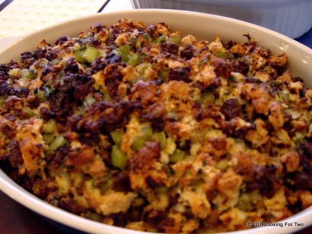 Turkey Sausage Stuffing Recipes Thanksgiving  Turkey Sausage Stuffing