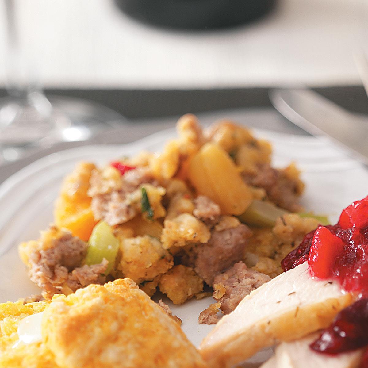 Turkey Sausage Stuffing Recipes Thanksgiving  Moist Turkey Sausage Stuffing Recipe