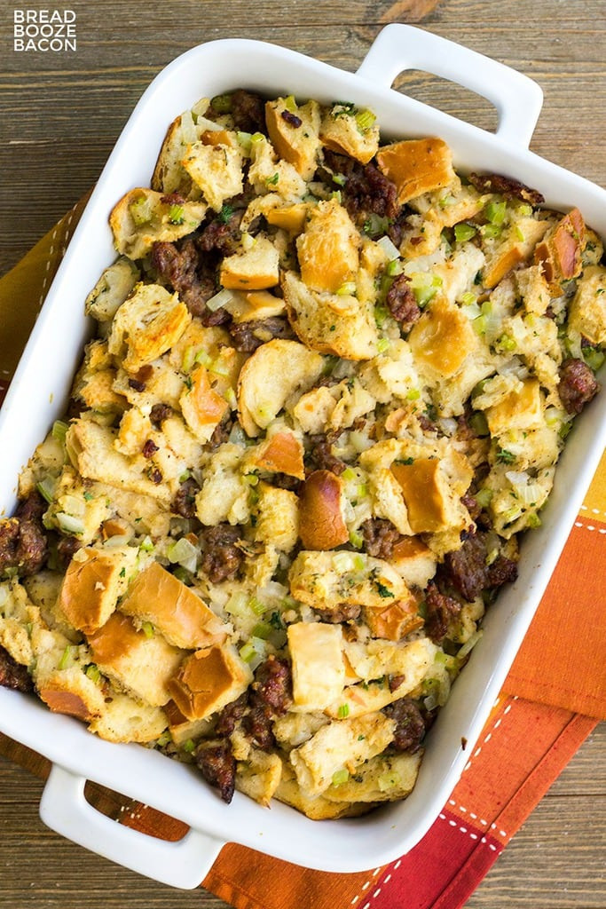 Turkey Sausage Stuffing Recipes Thanksgiving  Classic Sausage Stuffing