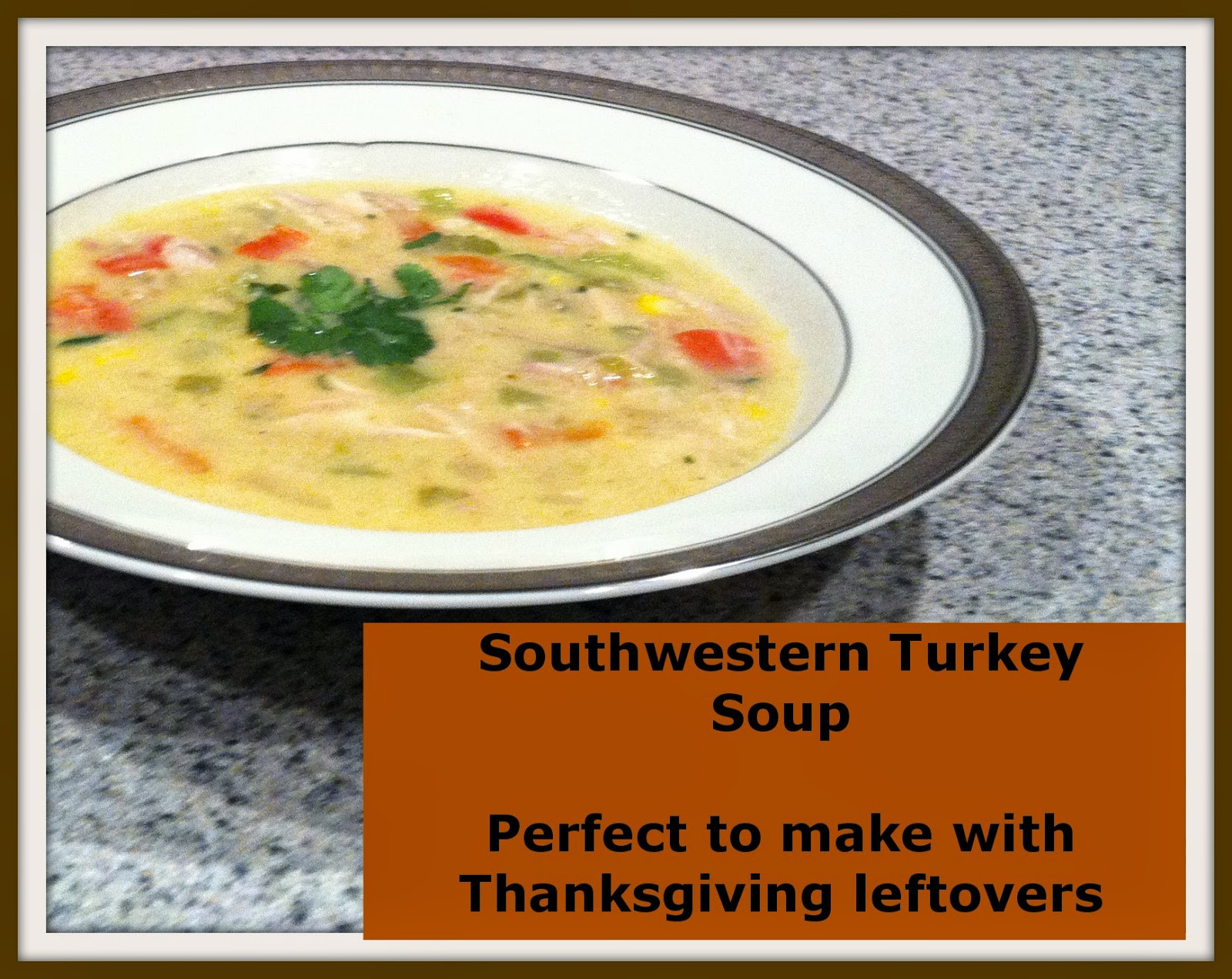 Turkey Soup From Thanksgiving Leftovers  twingle mommmy Southwestern Turkey Soup Recipe Perfect