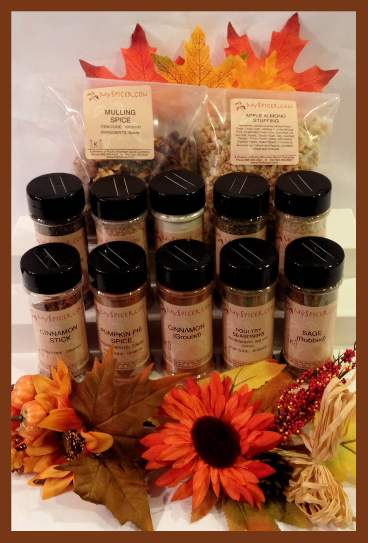 Turkey Spices For Thanksgiving  Win a Thanksgiving Spice Kit