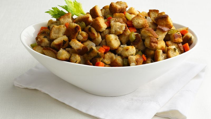Turkey Stuffing Recipes For Thanksgiving  Easy Turkey Stuffing recipe from Betty Crocker