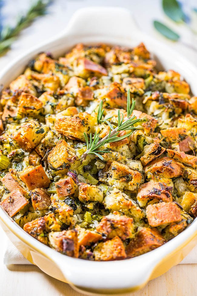 Turkey Stuffing Recipes For Thanksgiving  The 12 Best Stuffing Recipes Ever