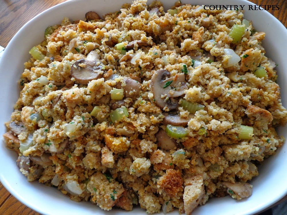 Turkey Stuffing Recipes For Thanksgiving  Turkey Stuffing Country Recipes Style Country Recipes